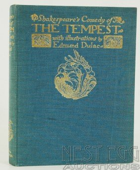 101: Shakespeare's Comedy of The Tempest, Illus. Dulac