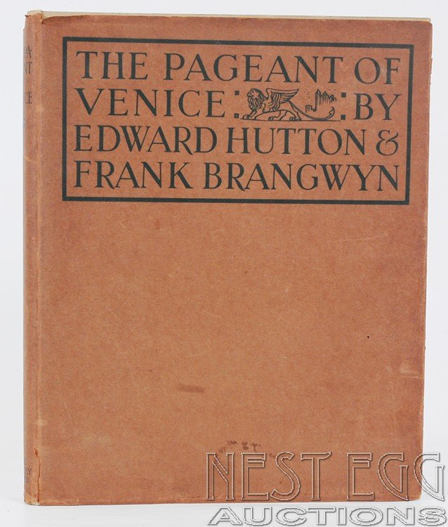 106: The Pageant of Venice. Hutton & Brangwyn