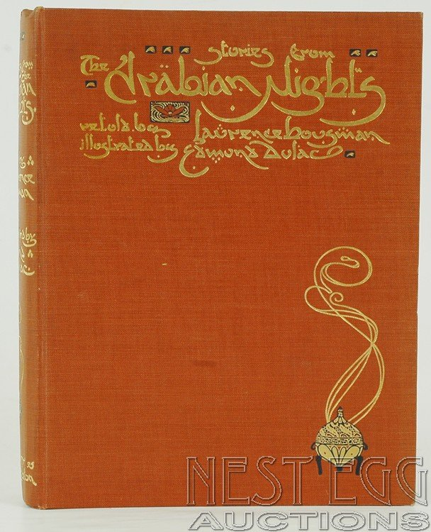 108: Stories From The Arabian Nights. Housman & Dulac