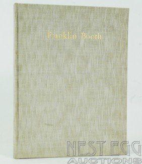 110: Franklin Booth: 60 Repros. From Original Drawings