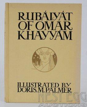 114: Rubaiyat of Omar Khayyam. Illus. Doris Palmer