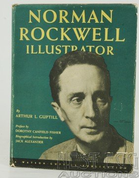122: Norman Rockwell Illustrator. Signed by Rockwell
