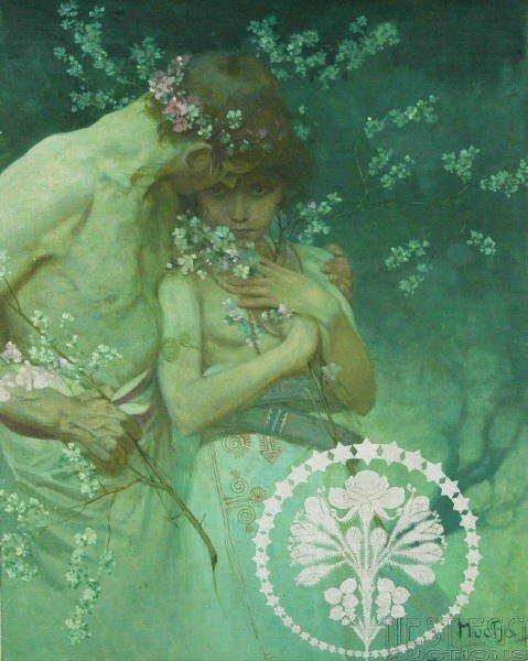 267: Alphonse Maria Mucha (Czechoslovakian, 1860-1939)