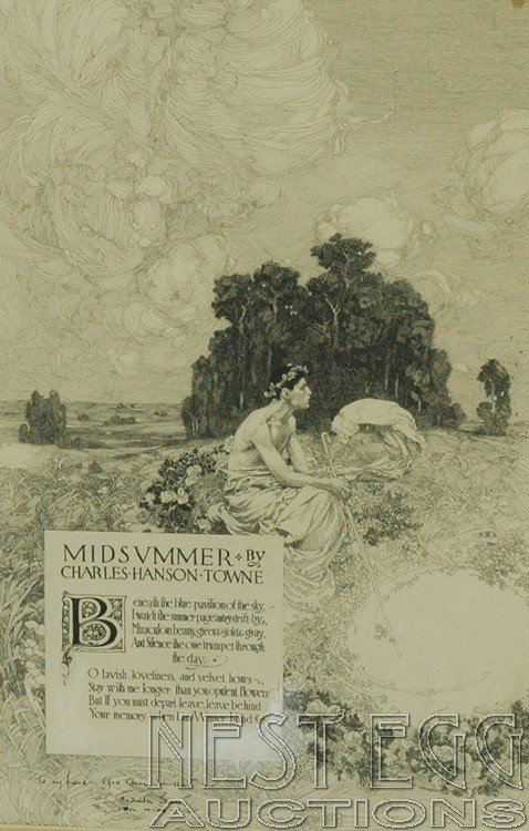 "271: Illustration for  ""Midsummer"" by Charles Hanson"
