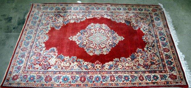 22: Kirman Oriental Carpet