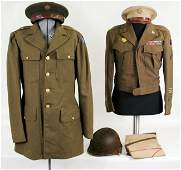 115: WWII US military uniform group