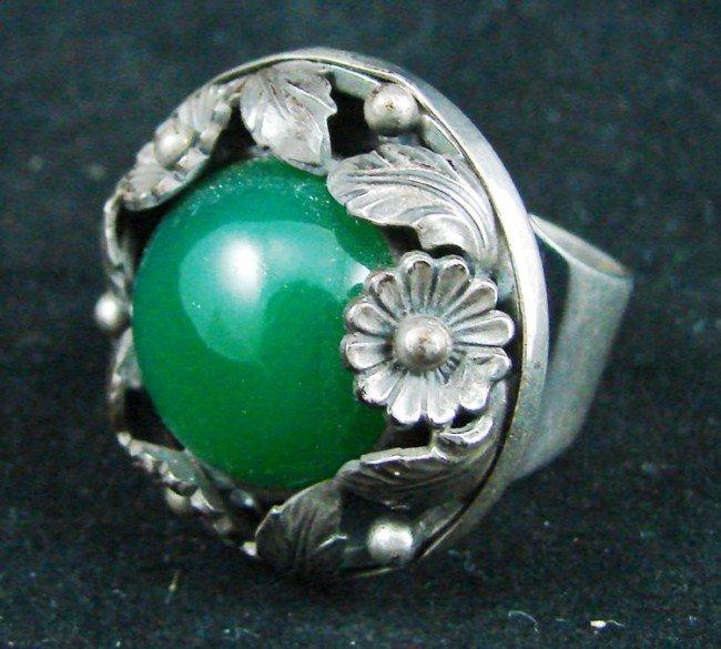 16: Danish Modern Sterling Ring
