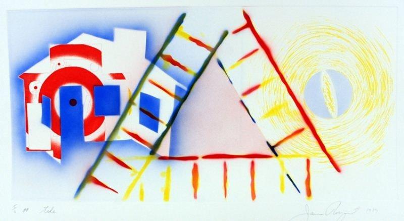 "17: James Rosenquist Lithograph: ""Tide"""