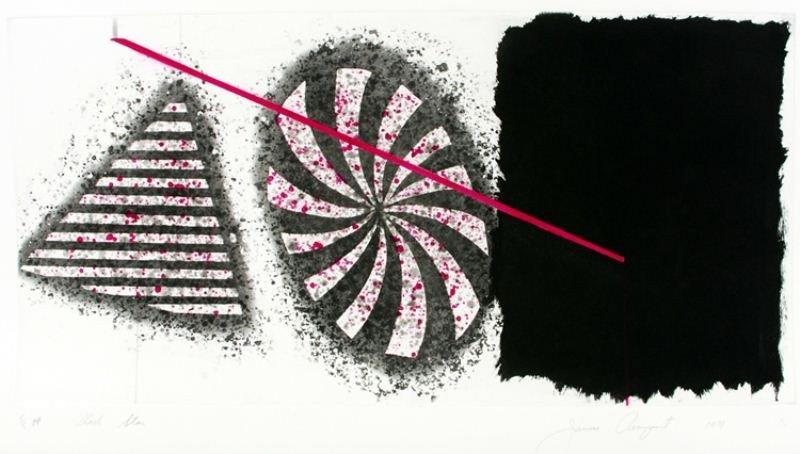 "20: James Rosenquist Lithograph: ""Black Star"""