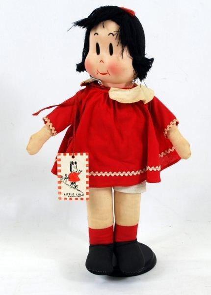 112: 1944 Georgine Novelty Cloth Little Lulu Doll