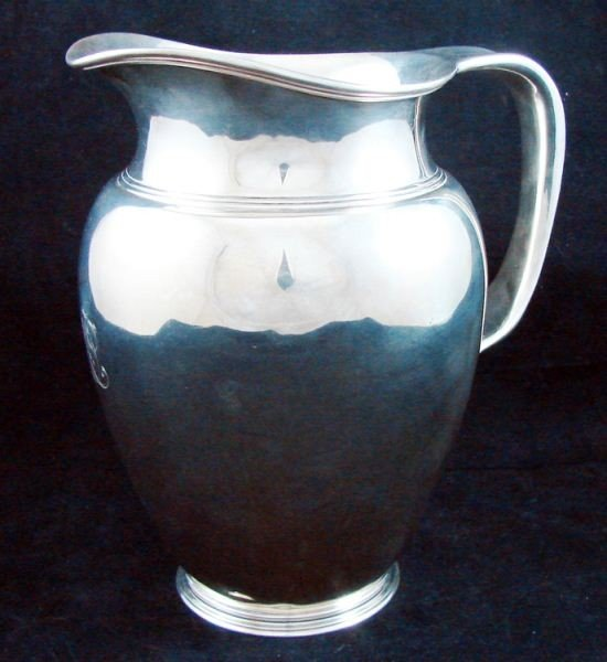 115: Tiffany Sterling silver pitcher approx 28 OZT