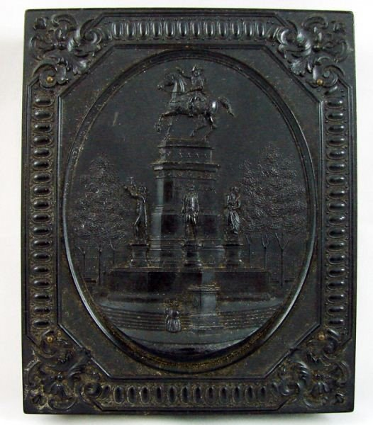 125: Washington Monument  S. Peck Union Case with photo