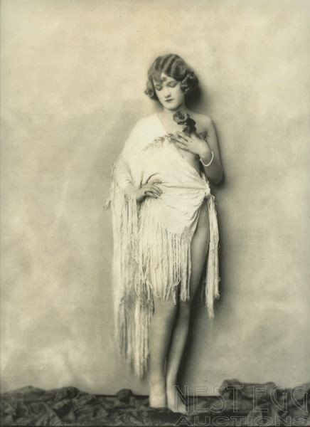 256: Alfred Cheney Johnston: 5 unidentified nudes - 5