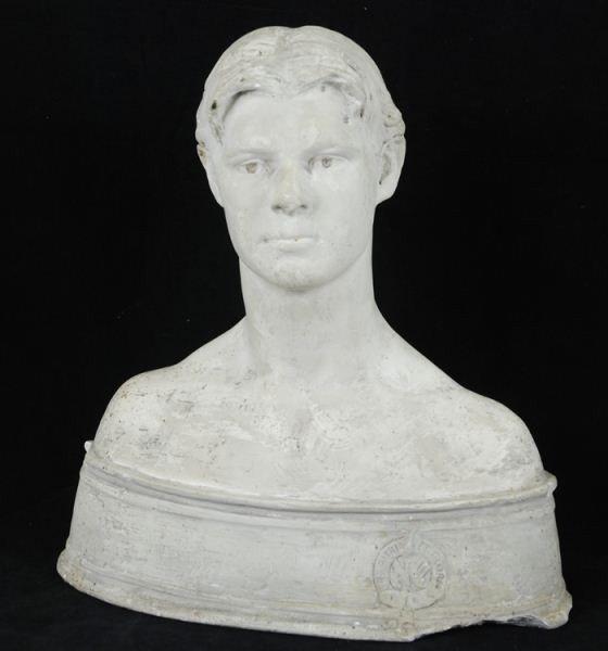 8: Louis A Gudebrod Plaster Bust