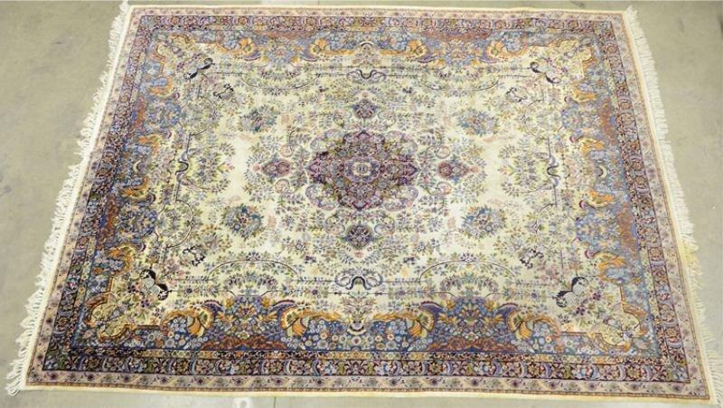 3: Fine Handmade Silk Room size Area Rug Carpet