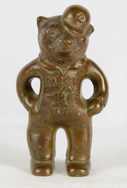 4: Charles Parker Promotional Bear Figure Parker Vise