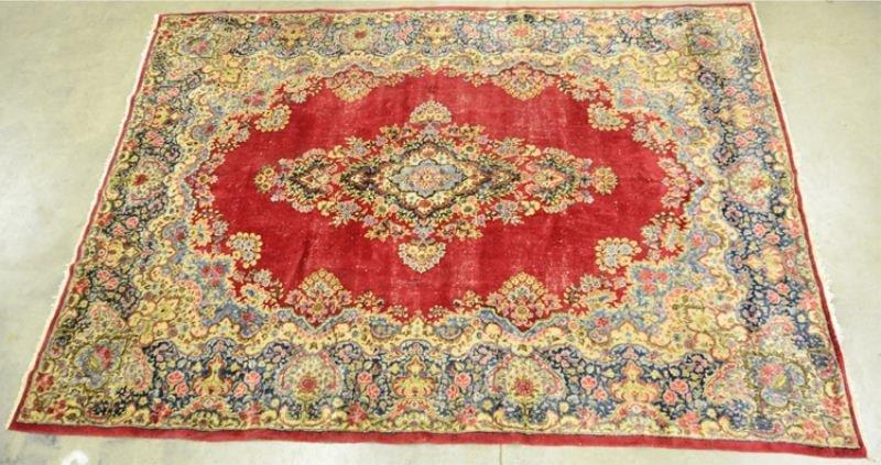 7: Room Size Kerman Carpet / Rug Herati Border
