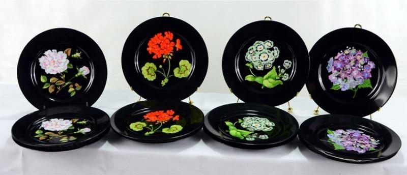 126: Tiffany & Co. Mrs. Delany's Flowers China