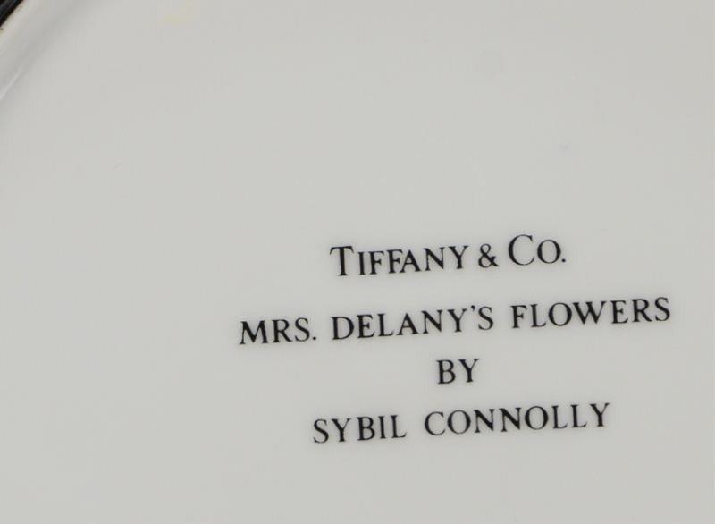 126: Tiffany & Co. Mrs. Delany's Flowers China - 2