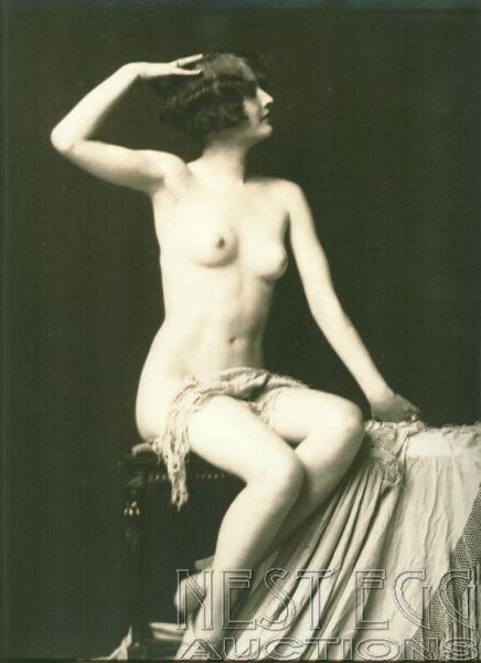 151: Alfred Cheney Johnston Barbara Stanwyck Nude photo