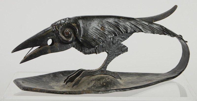 11: German Raven, Black Bird / Crow Twine string Cutter
