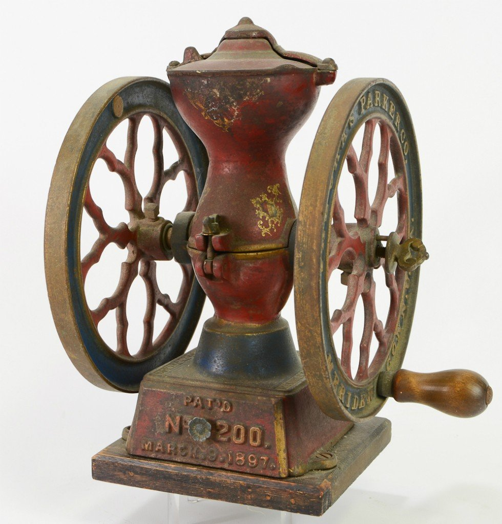 12: Charles Parker No. 200 Coffee Mill Grinder