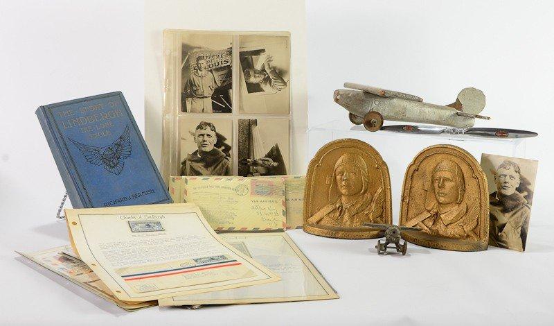 18: Charles Lindbergh Aviation Lot