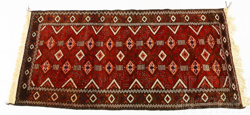 Turkoman, possibly Yomud Rug Carpet