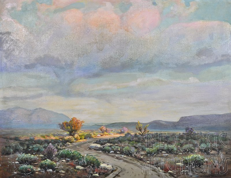 "William J. Brown (1865-1949) ""Desert Shadows"""