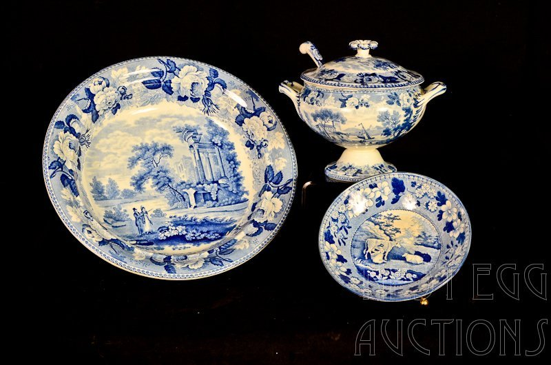 Three pieces Wedgwood china