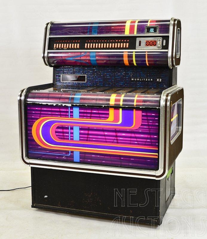 1970's era Wurlitzer X2 Juke Box
