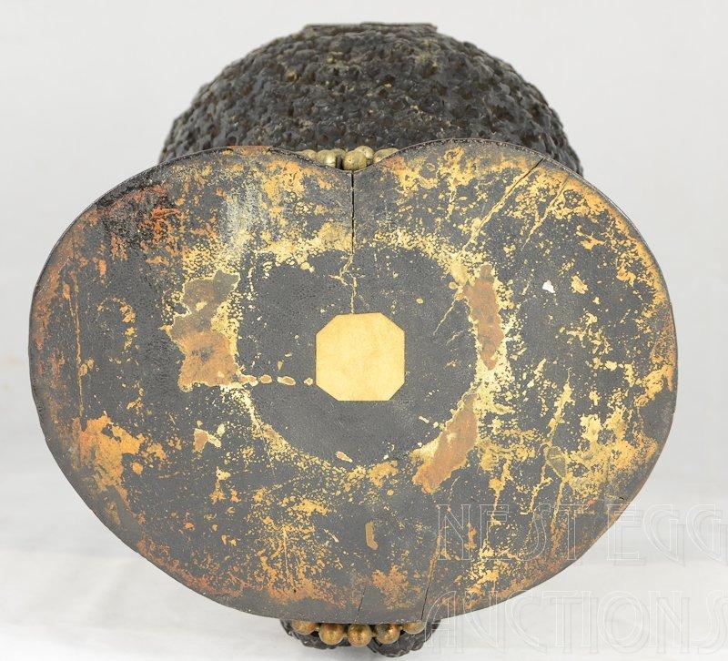 Carved wood Blackamoor Head Tobacco Jar Humidor - 5