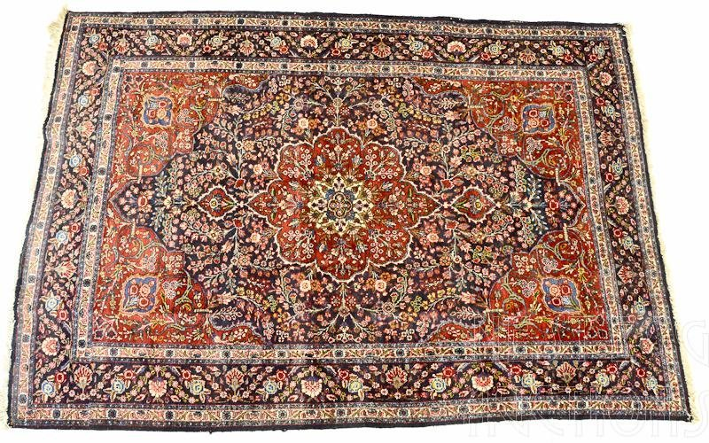 Persian Sarouk Room Size Rug / Carpet
