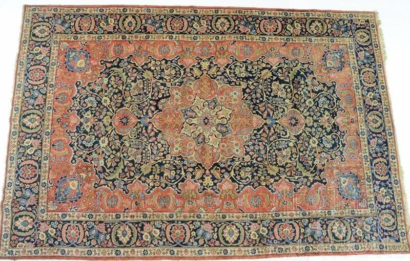 Persian Wool Herati Rug / Carpet
