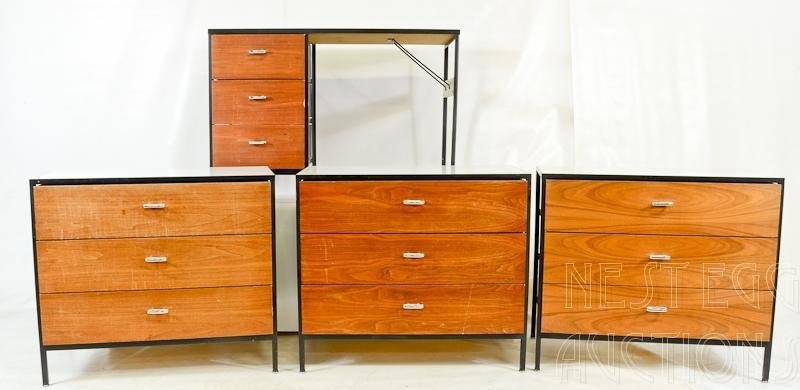 Group Lot of George Nelson for Herman Miller Furniture