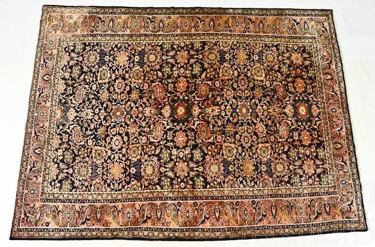 Persian Wool Herati Room Size Rug / Carpet