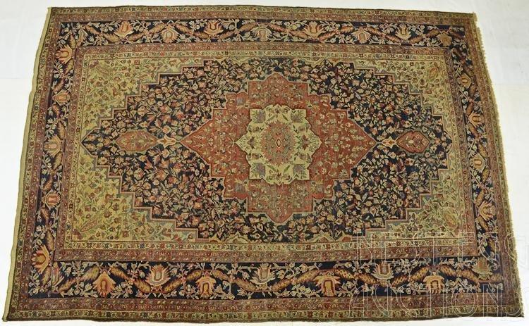 Persian Wool Heriz Room Size Carpet