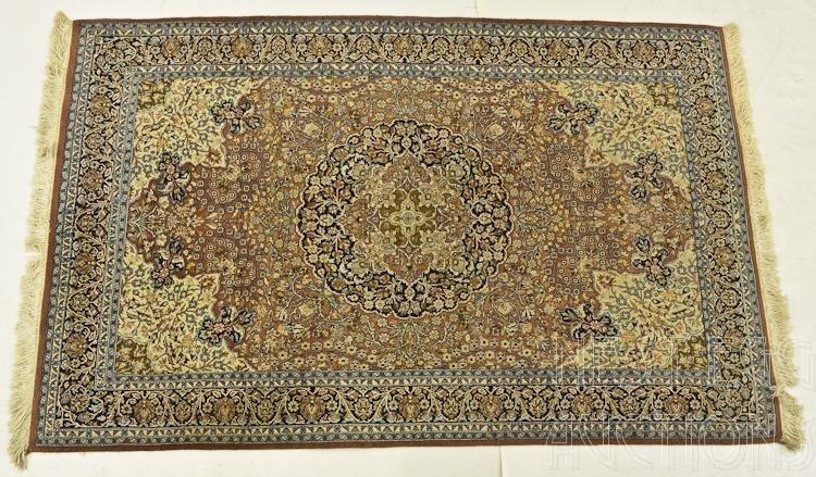 Persian Wool Kashan Rug
