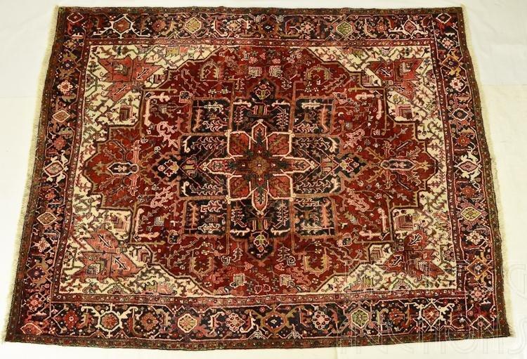 Room Size Oriental Carpet Possibly Heriz