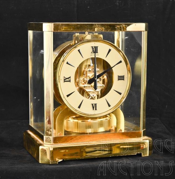 LeCoultre Atmos Perpetual Movement Swiss Clock 628-8