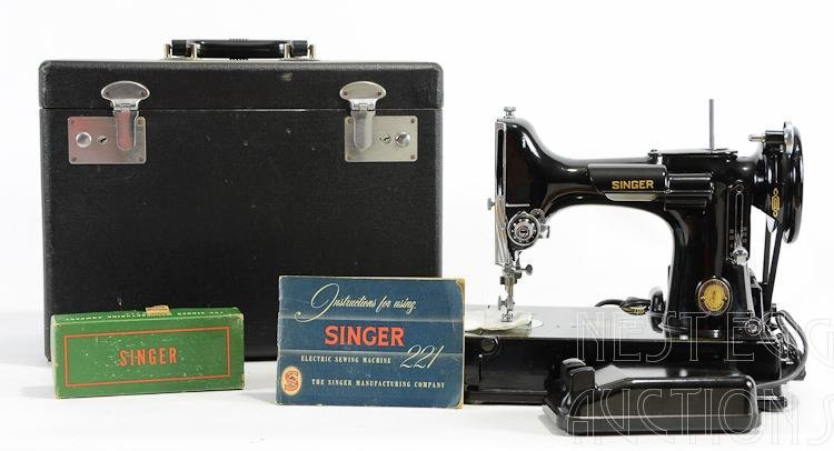 Centennial Singer 221 Featherweight Sewing Machine