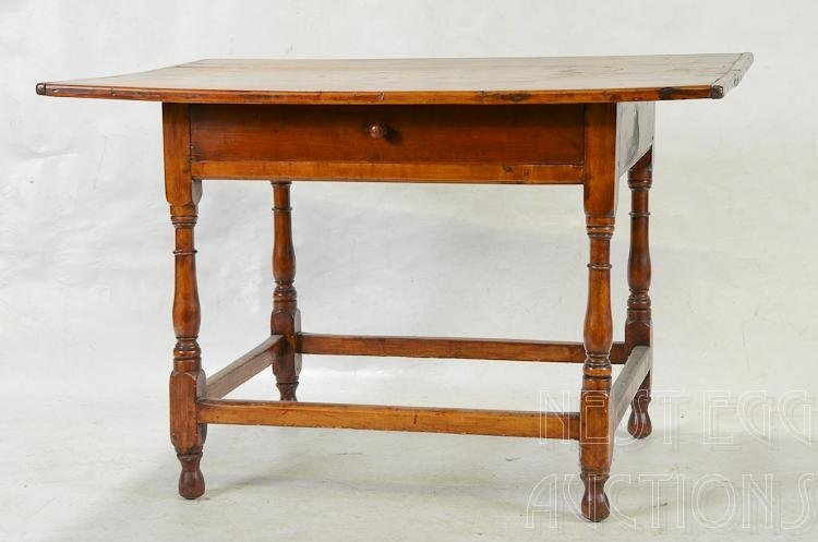 Antique New England Cherry / Pine Tavern Table