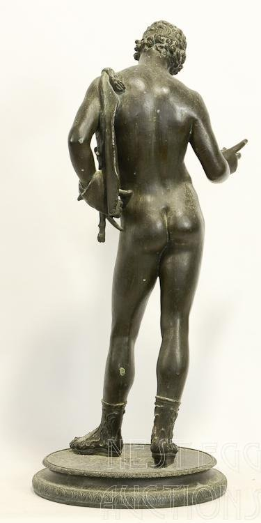 Bronze Classical Nude Male Figure - 2
