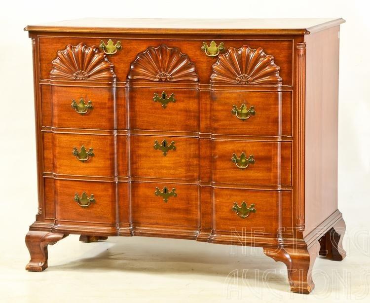Mahogany Block Front Dresser