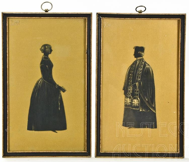 Two 19th Century Framed Silhouettes