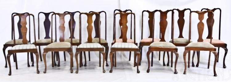 14 Similar Queen Anne Side Chairs