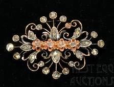 Edwardian Gold And Diamond Pin