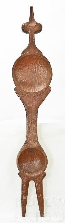 William Kent, American (1919-2012) Wood Carving