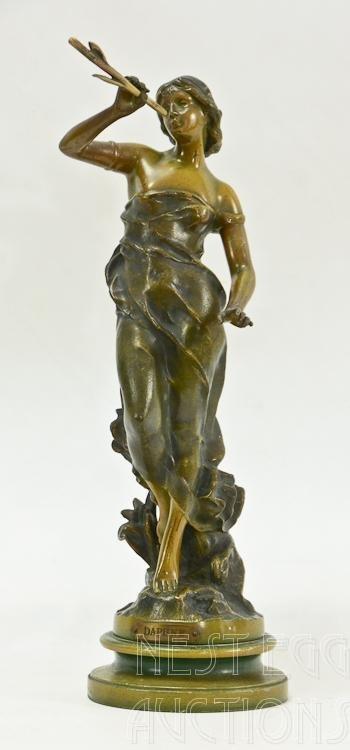 Bradley & Hubbard Daphne Bronze Statue