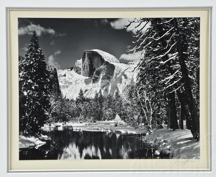 Ansel Adams, American (1902-1984) Yosemite 1938 Signed